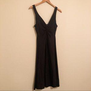Black cotton by velvet brand w/ front detailing